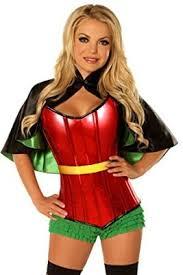 Female Robin Halloween Costume Size Halloween Costumes Women Big Heart