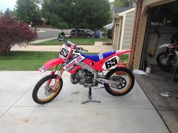 honda cr 500 what shade of honda red did you like moto related motocross
