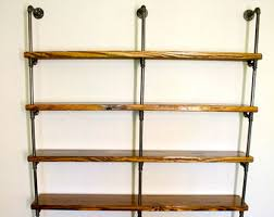 Industrial Shelving Unit by Industrial Pipe Shelving Unit Pipe Shelf Pipe Bookcase