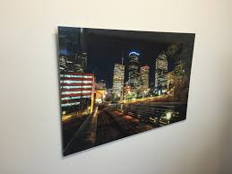 media print canvas metal acrylic