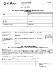 sample scope of work forms and templates fillable u0026 printable