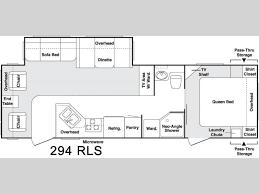 2006 keystone cougar floor plans used 2006 keystone rv cougar 294rls travel trailer at olathe ford rv