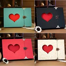 buy korea creative handmade diy paste type wedding photo album