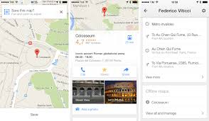 Offline Google Maps Google Brings Lane Guidance Uber Integration New Filters And
