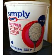 Daisy Low Fat Cottage Cheese by Simply Kraft Cottage Cheese Small Curd Fat Free Calories
