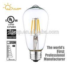 24v led light bulb ce erp 12v 24v led light import dimmable decorative st58 e27 4w