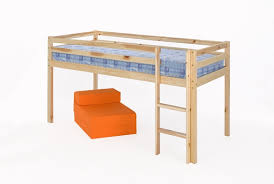 Mid Sleeper Bunk Bed Comfy Living Single Mid Sleeper Bunk Bed In Pine 3ft
