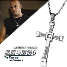 cross pendant chain necklace images Fast and furious statement necklace 2015 gold chain necklace for jpg