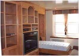 Small Bedroom Murphy Beds Bedroom Minimalist Small Bedroom Decoration Using Birch Wood Nyc
