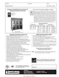 download free pdf for traulsen g11000 refrigerator manual