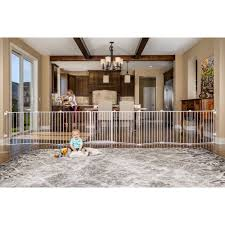 Baby Gates For Stairs No Drilling Regalo 192 Inch Super Wide Configurable Baby Gate And 8 Panel Play