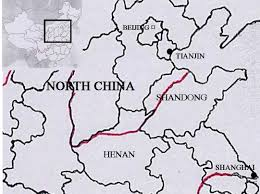 Tianjin China Map Great Leap Famine 1958 62 Urban Perspective Disasterhistory Org