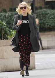 fearne cotton looks slim as she models latest ss14 collection for