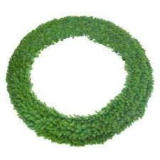 non lit wreath non lit garland