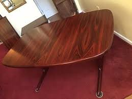 Rosewood Dining Room by Vintage Danish Mid Century Modern Rosewood Dining Table By Skovby