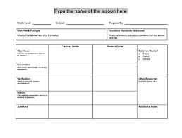 doc 500729 lesson plan sample in word u2013 free downloadable lesson