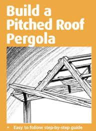 Attached Pergola Plans by Free Pergola Plans How To Build A Pergola