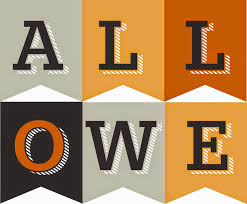 victorious archive free printable halloween garlands