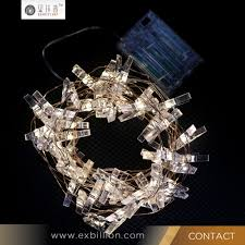 Led Wire String Lights by 10 Warm White Static Clothes Peg Card Holder Led Wire String