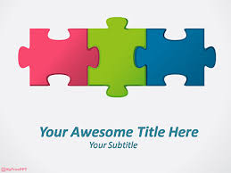 powerpoint puzzle template free editable jigsaw pieces powerpoint