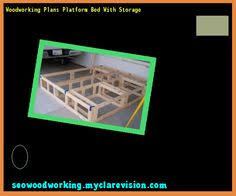 Woodworking Plans Storage Bed by Plans To Build Platform Bed With Storage 165400 Woodworking