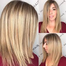 hair highlighted in front women s blonde highlighted longhair with front layers and textured