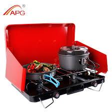 portable table top butane stove portable picnic stove 2 burner gas stove top garden stove portable