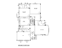 room floor plan free three bed room middle east type floor plan free download