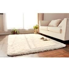 White Shag Rug Aliexpress Com Buy 80 120cm Large Size Plush Shaggy Soft Carpet