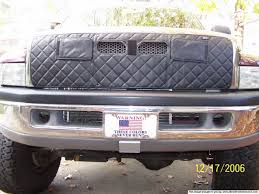 dodge cummins truck winter grill covers diesel bombers
