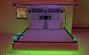Tech Bedroom Bedroom Of The Future Self Cleaning Mattresses And Holographic