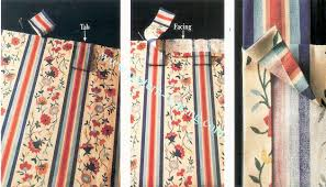 Tab Curtains Pattern Tab Top Curtains Pattern