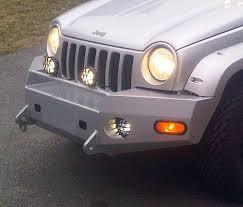 jeep liberty front bumper front winch bumper jeep liberty 02 04 kj bluelakeoffroad