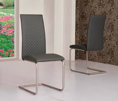 Coloured Leather Dining Chairs Mulliner Classic Diamond Stitch Dining Chair Black White Grey Or