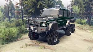 dark purple jeep mercedes benz g65 amg 6x6 final dark green for spin tires