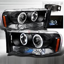 02 dodge ram headlights dodge ram spec d 2lhp ram02jm tm led halos 5 reviews