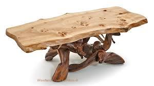 burl wood coffee table log coffee table antler sofa table lodge coffee table