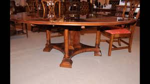 antique expandable dining room tables youtube
