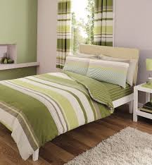 8 piece king size duvet cover set including curtains c s green