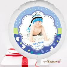 send this beautifull greeting balloons send personalised baby boy balloon in a box gift