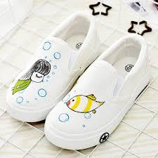 aliexpress com buy children art craft shoes kids hand painted