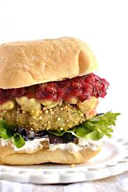 thanksgiving leftovers quinoa burgers fork and beans