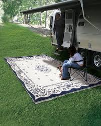 rv outdoor mat 9x12 reversible patio rug outdoor carpet camping