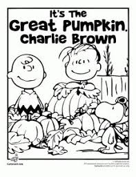 thanksgiving pumpkins coloring pages it s the great pumpkin charlie brown coloring pages linus waiting