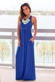 Formal Dresses With Pockets Royal Blue Maxi Dress With Pockets Maxi Dresses U2013 Saved By The Dress