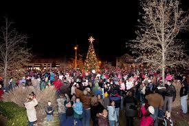 downtown clayton nc thousands attend clayton u0027s christmas village