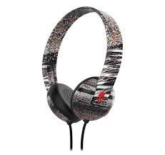 skullcandy home theater skullcandy uproar glitch black red on u2013ear headphone with mic
