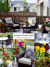 Patio Catalog Patio Makeover With The Help Of Kmart Sweet C U0027s Designs
