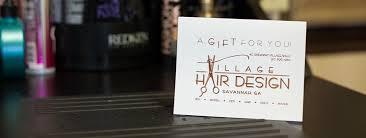 village hair design savannah ga