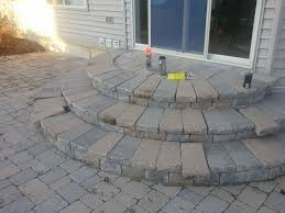 Slope For Paver Patio by Fresh Installing Patio Pavers On A Slope 19394
